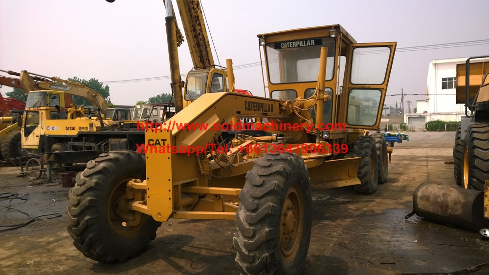 Used Cat12g Motor Grader For Sale 1992 Caterpillar 12g