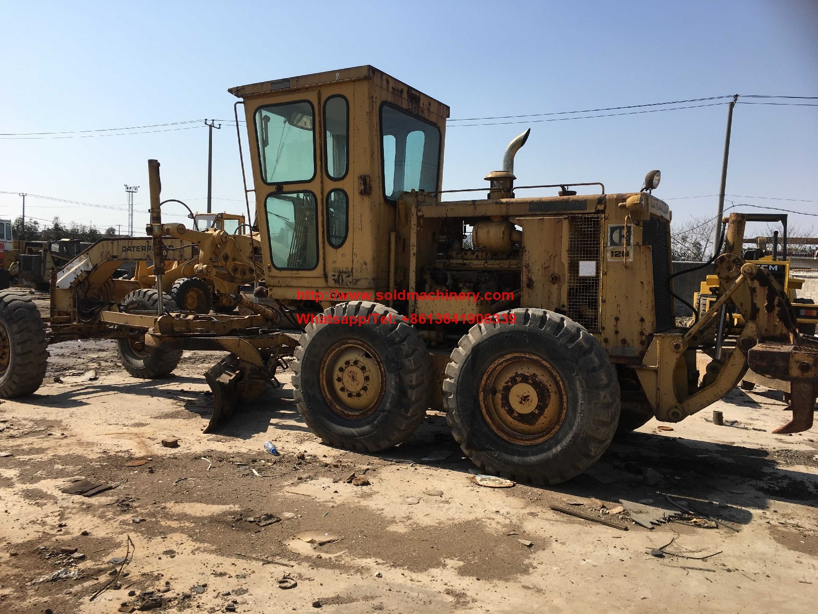 Used Used Motor Grader For Sale For Sale Caterpillar Cat