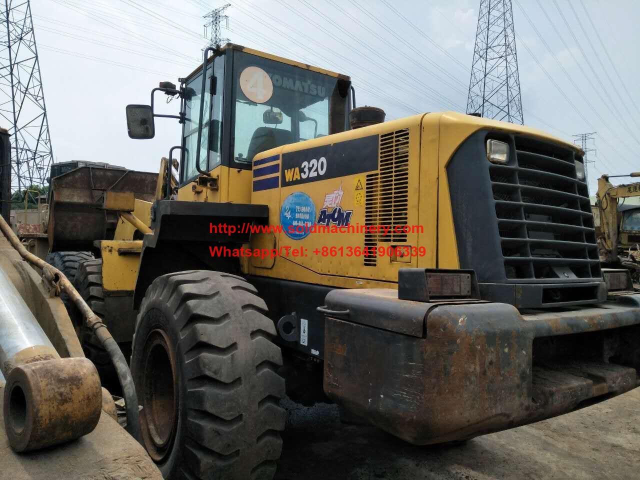used used komatsu wheel loader for sale for sale 2011