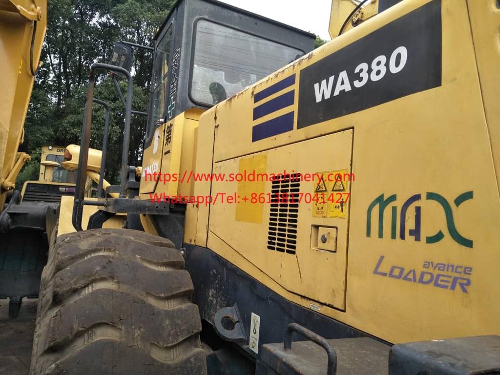 used komatsu WA380-3 for sale 2009 Komatsu wa380-3 used